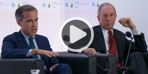 FSB Chair launches TCFD at COP21 Summit in Paris